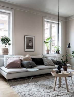 Amazing Scandinavian Livingroom Decorations Ideas10