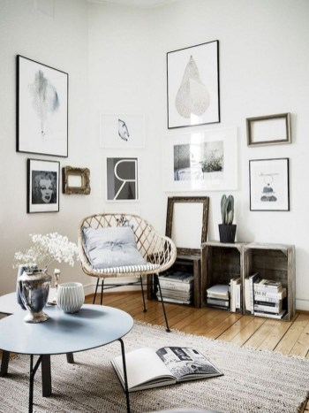 Amazing Scandinavian Livingroom Decorations Ideas28