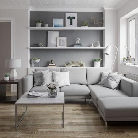 Amazing Scandinavian Livingroom Decorations Ideas30