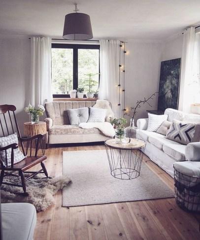 Amazing Scandinavian Livingroom Decorations Ideas32