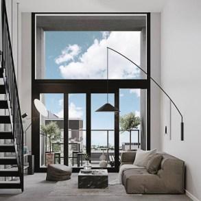 Amazing Scandinavian Livingroom Decorations Ideas38