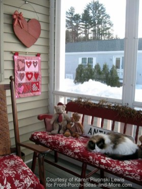 Amazing Valentine Porch Ideas08