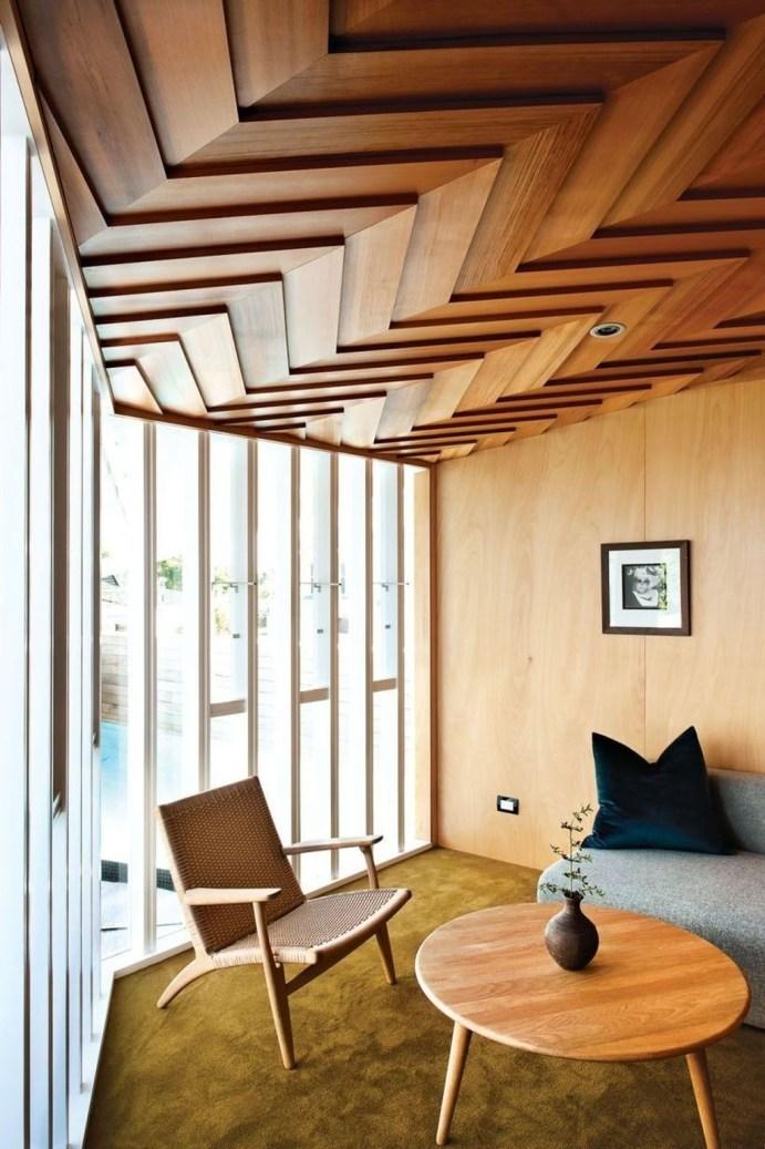 Amazing Wooden Ceiling Design 13