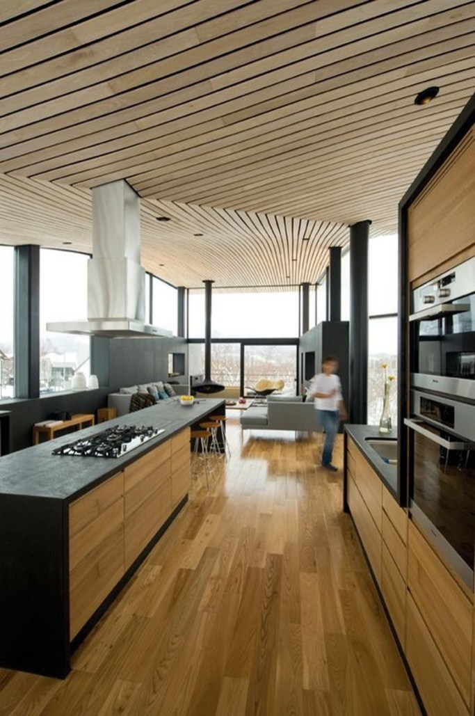 Amazing Wooden Ceiling Design 14