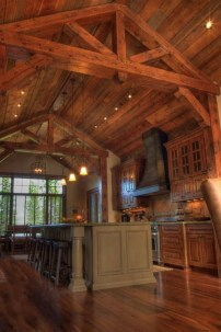 Amazing Wooden Ceiling Design 22