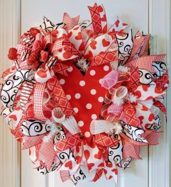 Awesome Front Door Ideas For Valentine01