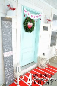 Awesome Front Door Ideas For Valentine11