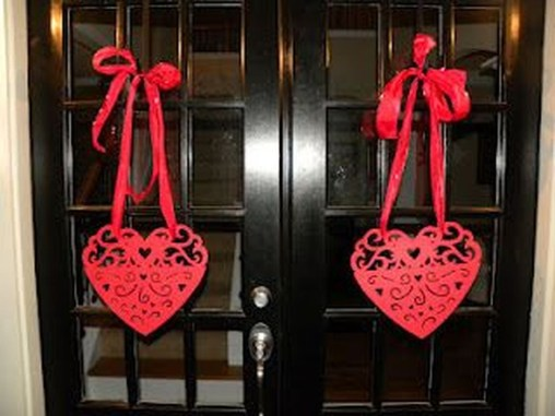 Awesome Front Door Ideas For Valentine24