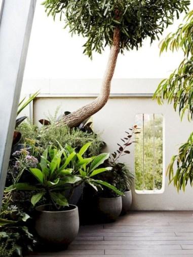Awesome Rustic Balcony Garden06