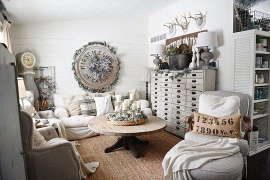 Awesome Winter Living Room Ideas38