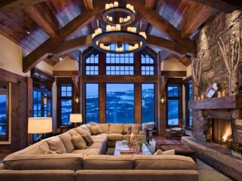 Awesome Winter Living Room Ideas42
