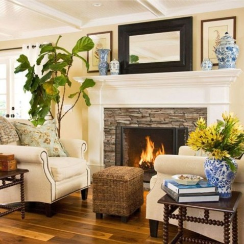 Awesome Winter Living Room Ideas43