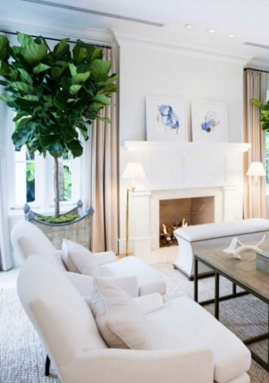 Awesome Winter Living Room Ideas45