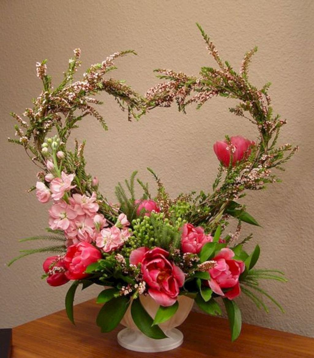 Beautiful Flower Decoration Ideas For Valentine12