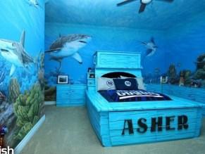 Elegant Blue Themed Bedroom Ideas14