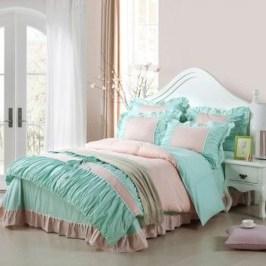 Elegant Blue Themed Bedroom Ideas28