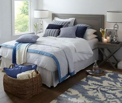 Elegant Blue Themed Bedroom Ideas34