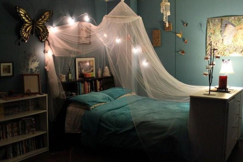 Elegant Blue Themed Bedroom Ideas38