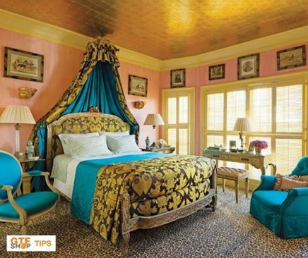 Elegant Blue Themed Bedroom Ideas40