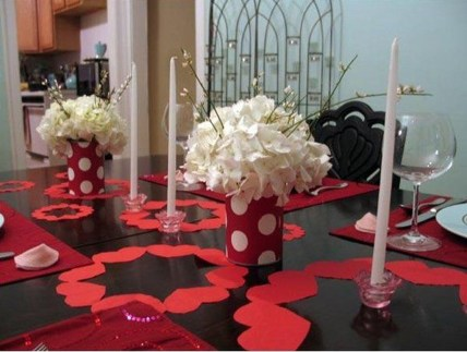 Inspiring Valentine Centerpieces Table Decorations08