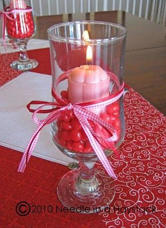 Inspiring Valentine Centerpieces Table Decorations14