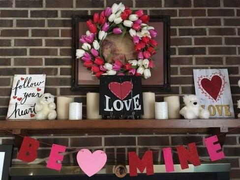 Inspiring Valentine Indoor Decoration24