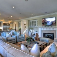 Lovely Fireplace Living Rooms Decorations Ideas11