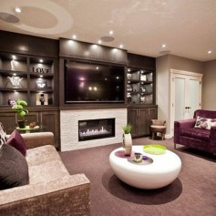 Lovely Fireplace Living Rooms Decorations Ideas16