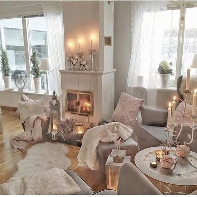Lovely Roses Decor For Living Room09