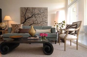 Lovely Roses Decor For Living Room13