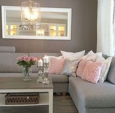 Lovely Roses Decor For Living Room18