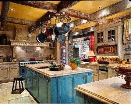Lovely Western Style Kitchen Decorations07