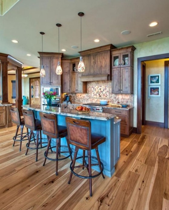 Lovely Western Style Kitchen Decorations23