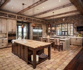 Lovely Western Style Kitchen Decorations37
