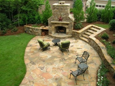 Modern Patio On Backyard Ideas13