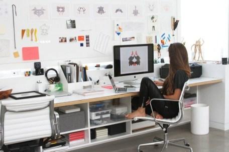 Simple Workspace Design Ideas37
