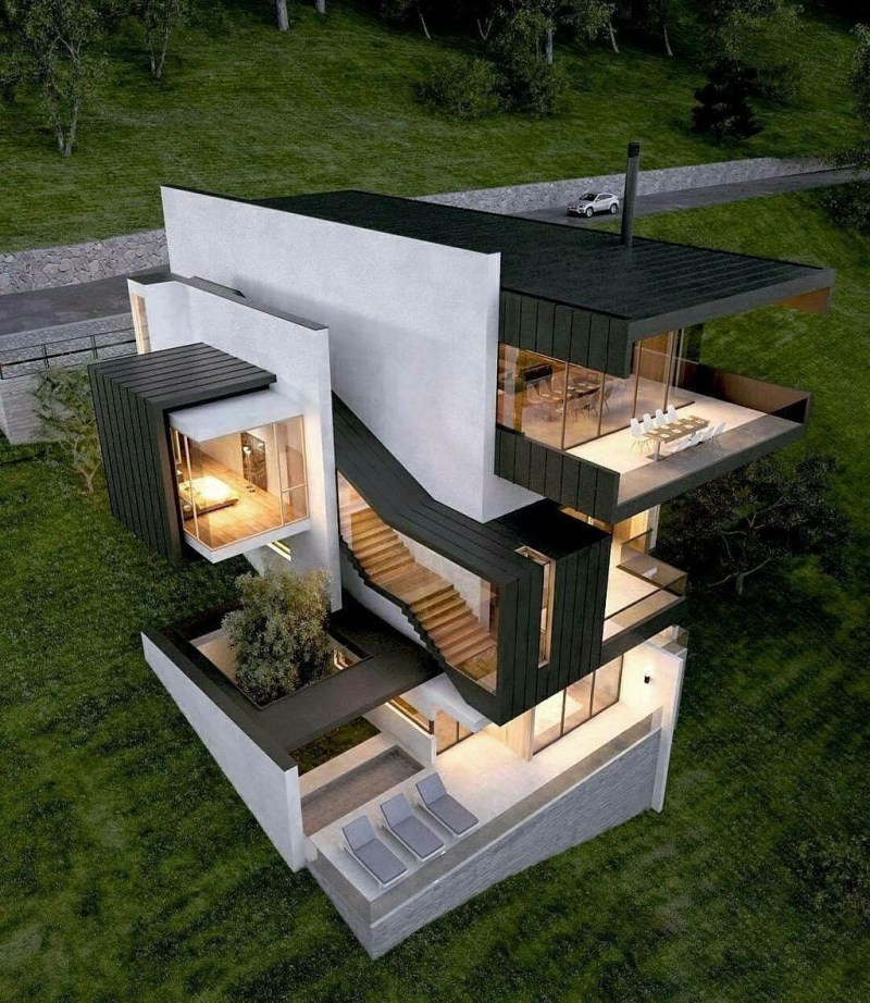 Amazing Modern Home Exterior Designs19