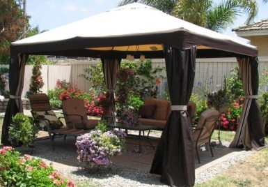 Amazing Traditional Patio Setups For Your Backyard21
