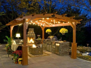 Amazing Traditional Patio Setups For Your Backyard22