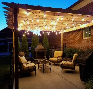 Amazing Traditional Patio Setups For Your Backyard33