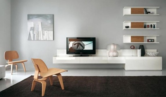 Amazing Wall Storage Items For Your Contemporary Living Room09