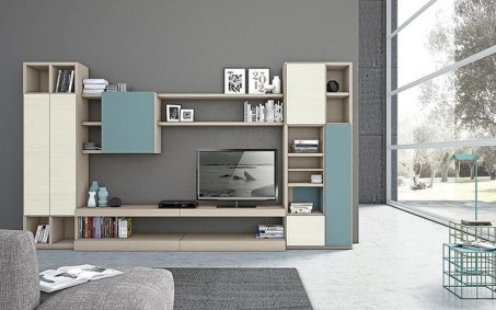 Amazing Wall Storage Items For Your Contemporary Living Room22