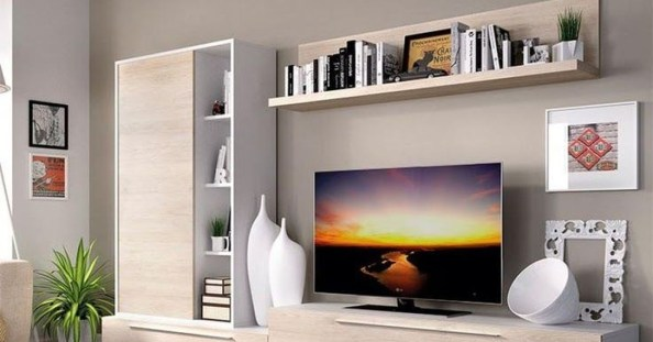 Amazing Wall Storage Items For Your Contemporary Living Room25