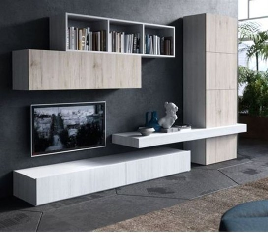 Amazing Wall Storage Items For Your Contemporary Living Room30