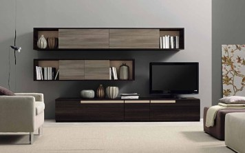 Amazing Wall Storage Items For Your Contemporary Living Room46