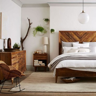 Beautiful Vintage Mid Century Bedroom Designs13