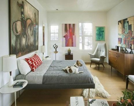 Beautiful Vintage Mid Century Bedroom Designs15