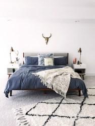 Beautiful Vintage Mid Century Bedroom Designs27