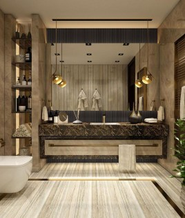 Lovely Contemporary Bathroom Designs32