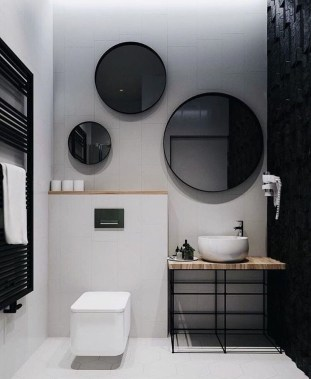 Lovely Contemporary Bathroom Designs33